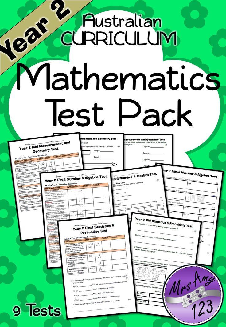 Year 2 Mathematics Test Pack