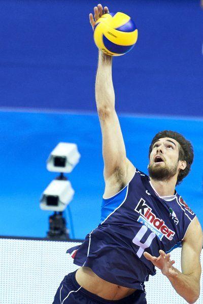 Luca Vettori, 25 anni, pallavolo, Italia Altezza: 1,99 m - Peso: 95 kg