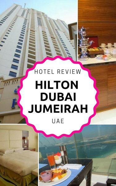 The Hilton Dubai Jumeirah offers stunning views of the coastline!