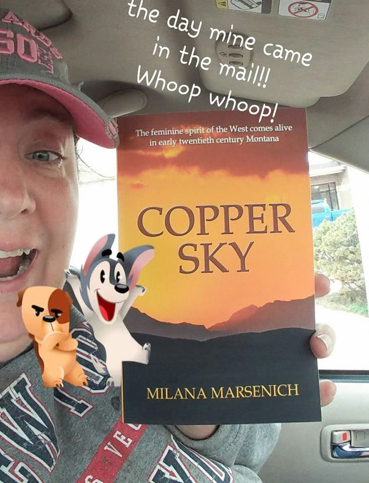 Join the Copper Sky virtual book club! #bookclub #bookclubs #fiction @milanamarsenich Photo Credit: Amber R Ashby https://www.facebook.com/groups/1063722327062752/