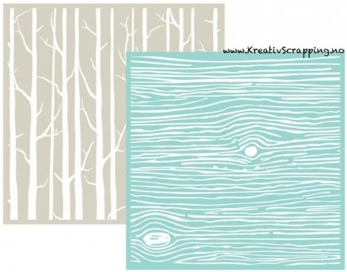 WE R - EMBOSSING FOLDER GOOSEBUMPZ 3718 - WOODGRAIN Embossing folder fra WE R MEMORY KEEPERS. Måler 6x6 inch. We R Memory Keepers-Goosebumpz Embossing Folder. Give your paper crafts a unique look! Embosses with most die-cutting tools. This package contains two 6x6 inch embossing folders. Comes in a variety of designs. Each sold separately.