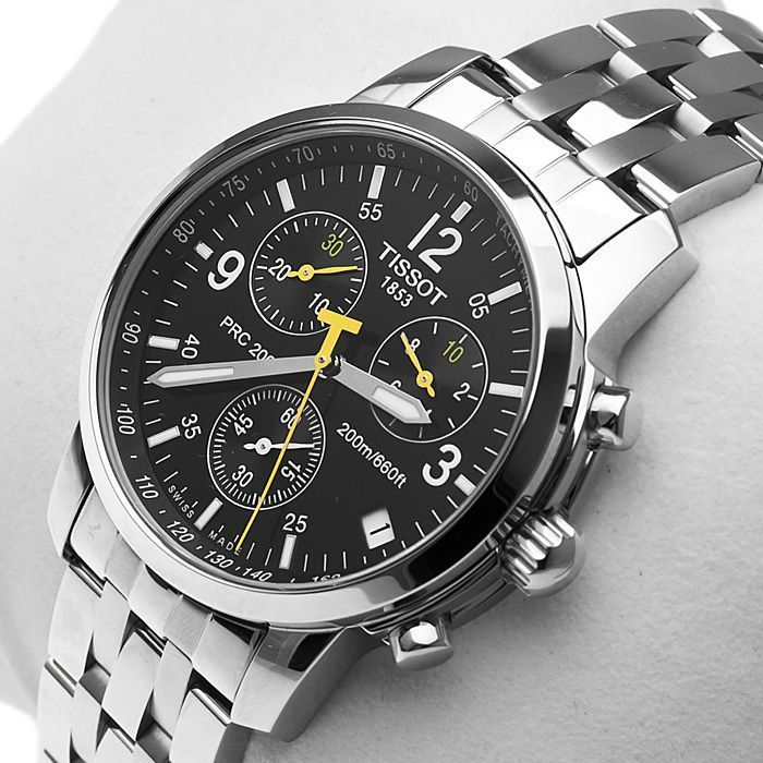 5b692389140 Tissot Men s T17158652 PRC 200 Chronograph Watch  watchesformen ...