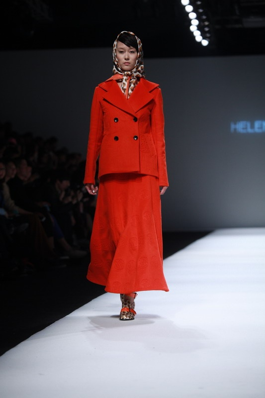 Helen Lee AW2013 | Shanghai Fashion Week