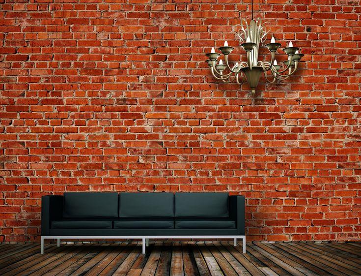 Die besten 25+ Backstein tapete Ideen auf Pinterest Backstein - unbehandelte ziegelwand