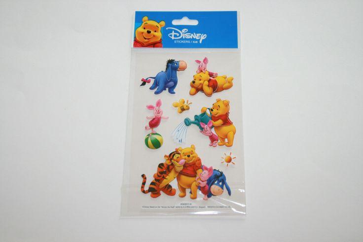 Stickers relief 3D WINNIE l'Ourson et ses amis n°1 : Stickers, autocollants par boutique-creative-by-c-dona