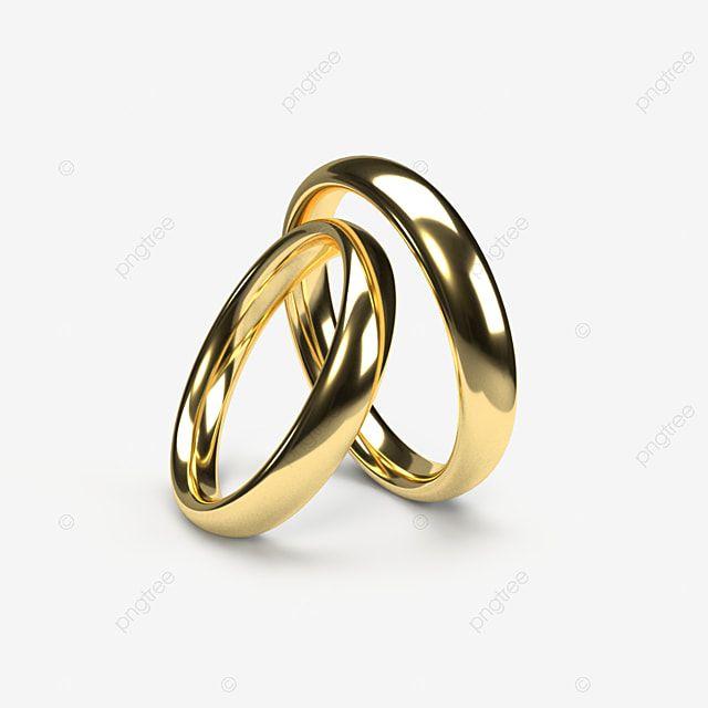 Ilustracao 3d De Aneis De Casamento De Ouro Clipart De Noivado Argolas Anel Imagem Png E Psd Para Download Gratuito In 2021 Traditional Wedding Rings Wedding Ring Background Romantic Wedding Rings