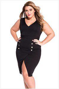 MEINICE – Robe spécial grossesse – Femme – Noir – XL: Tweet