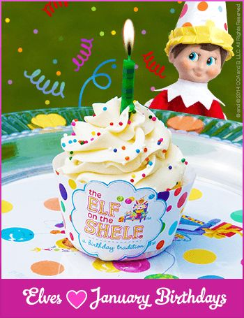 January Birthday Party Ideas for Kids | Elf on the Shelf: A Birthday Tradition