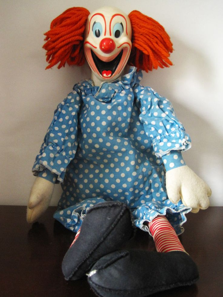 Bozo the Clown Doll by Mattel by fromThePeddlersCart on Etsy
