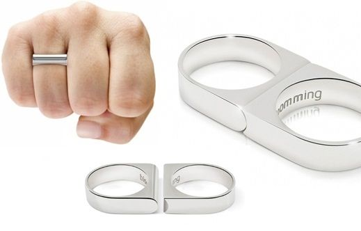anillos plata y oro con iniciales como se fabrican - Buscar con Google
