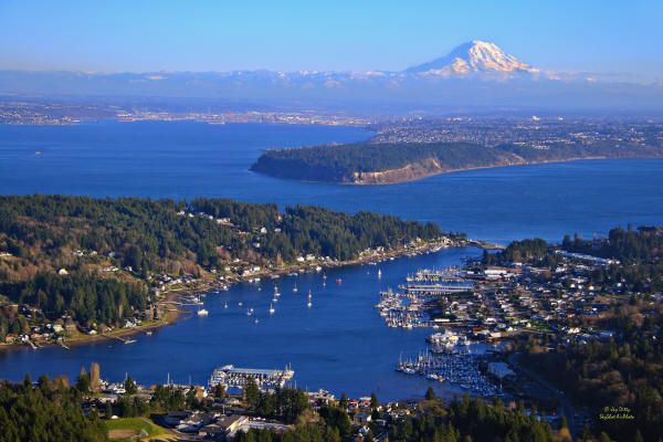 "Gig Harbor, WA was listed #5 in Smithsonian Magazine's recent article, ""The 20 Best Small Towns in America."": Dream Places, Beautiful Places 3, Washington State, Explore Gig, Beautiful Washington, Gig Harbor Washington, Homes"