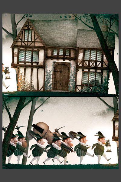 Blancanieves de Jacob y Wilhem Grimm, ilustración de Iban BarrenetXea? Nórdica libros