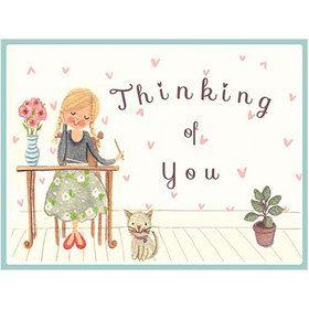 B040 I'm Thinking of You Gift Card. www.gailscards.com.au