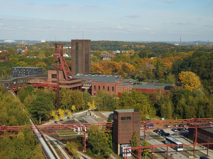 The walled city of Zollverein by OMA | METALOCUS