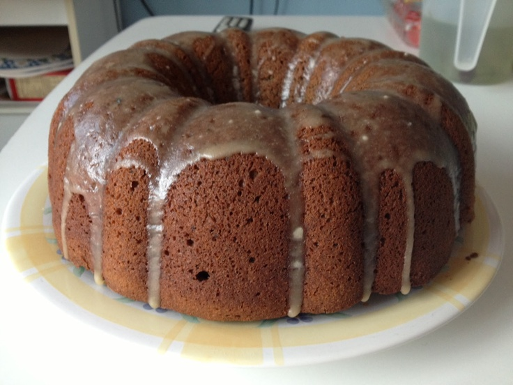 Maple Espresso Bundt Cake
