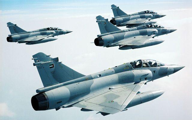 United Arab Emirates Air Force Dassault Mirage 2000-9DADs