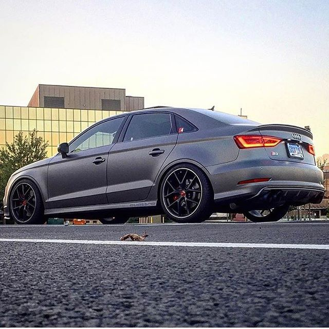 Sidewayz #Saturday ▪️Audi #S3 ▪️ _____________________________________________________📷| @matte_s3 ⬅️(For sale contact owner) _____________________________________________________ Want to feature your ride or get likes hashtag #Audipixs or 📧 audipixs@gmail.com _____________________________________________________ Please Follow : ➡️ @audiengine ➡️ @audicarsworld ➡️ @audi_regram…