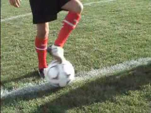Soccer training for kids...stuff to practice at home.