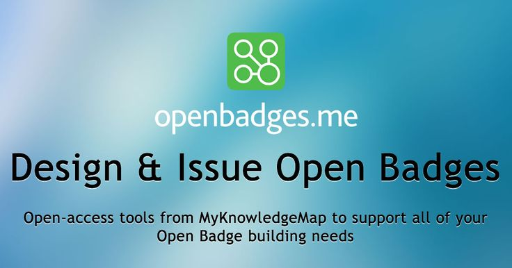 Free tools to issue Mozilla Open Badges. Design and award your own open badges: credential skills, recognize learning and create bite-sized rewards to support micro-credentials in your eportfolio.