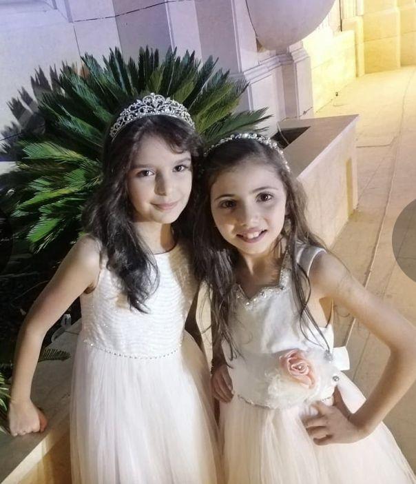 نتالي مرايات ولين الغيث Wedding Dresses Flower Girl Dresses Dresses