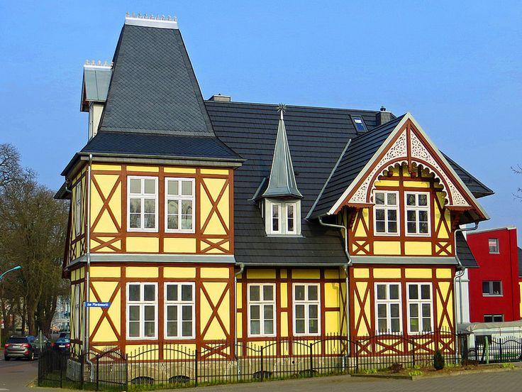 Lovely Neubrandenburg Fachwerk Villa am Pferdemarkt