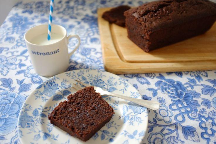 recette sans gluten de cake aux deux chocolats - gluten free double chocolat pound cake