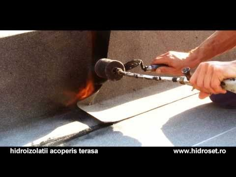 Seal the flat roof, Torch proffesional membrane