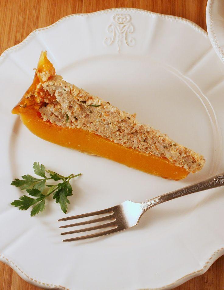Dynia piżmowa faszerowana mięsem i kaszą jaglaną  #halloween #dynia #pumpkin #przepisy