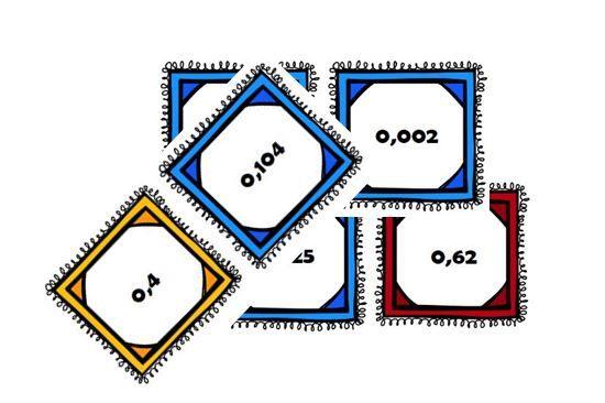 Atelier nombres décimaux : la bataille des décimaux