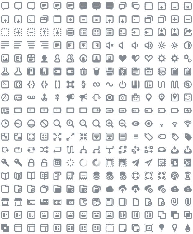 5 Useful Icon Free Icon Fonts