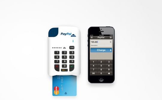 Paypal launches a chip and PIN service called Paypal Here