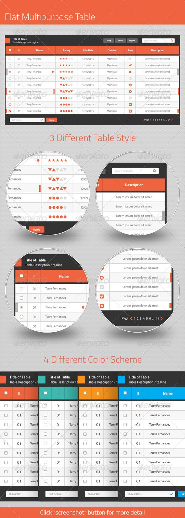 66 best Table Templates images on Pinterest | Font logo, Table ...