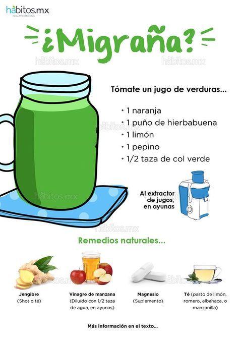 Hábitos Health Coaching | JUGO DE VERDURAS CONTRA LA MIGRAÑA