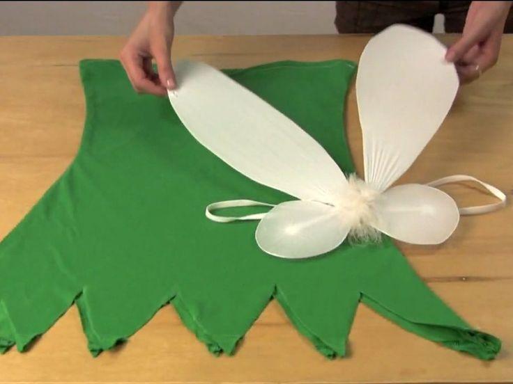 Cómo hacer un disfraz de Campanilla
