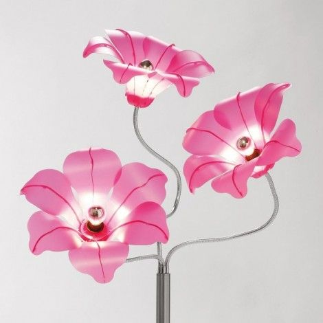 KARE Prague - Floor Lamp Bloom Pink
