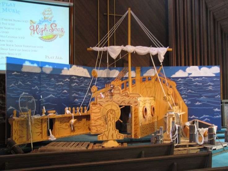 1000 images about vbs son treasure island decorations on for Decoration yacht