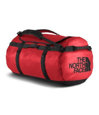 It's not your average duffel bag. Made from a durable laminate material, the Base Camp Duffel is a bomber of a bag. Amply resilient to be roughed around in-flight, or to be transported up a mountain via a yak, this is one burly duffel bag. Ample, 132-liter volume provides ideal storage for long, extended trips, or space for hockey goalies to stash all of thier bulky pads. New design features redesigned straps and an internal mesh pocket for additional organization.