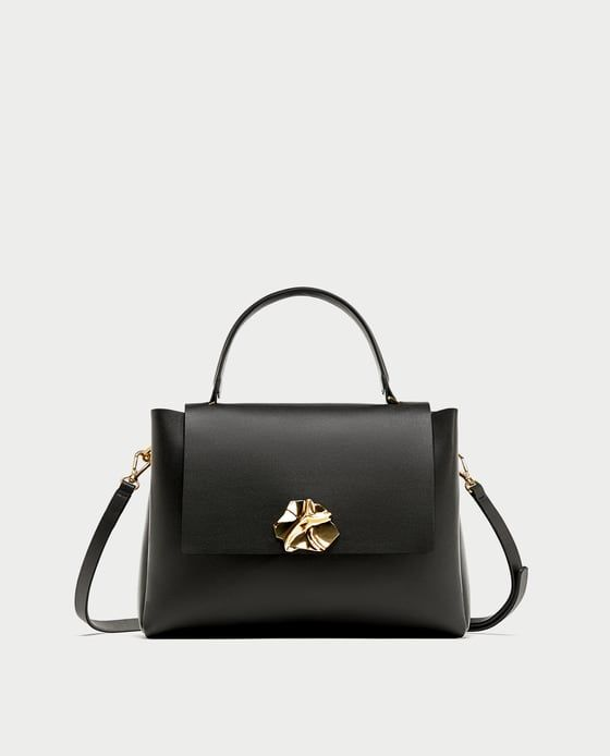 CITY BAG WITH ZIPS-Handbags-BAGS-WOMAN | ZARA United Kingdom