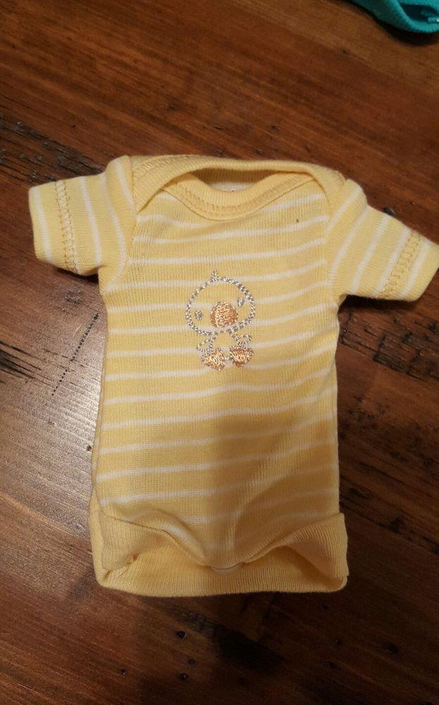 "Handmade OOAK Reborn Baby Doll Ashton Drake micro preemie clothes 8"" silicone | eBay"