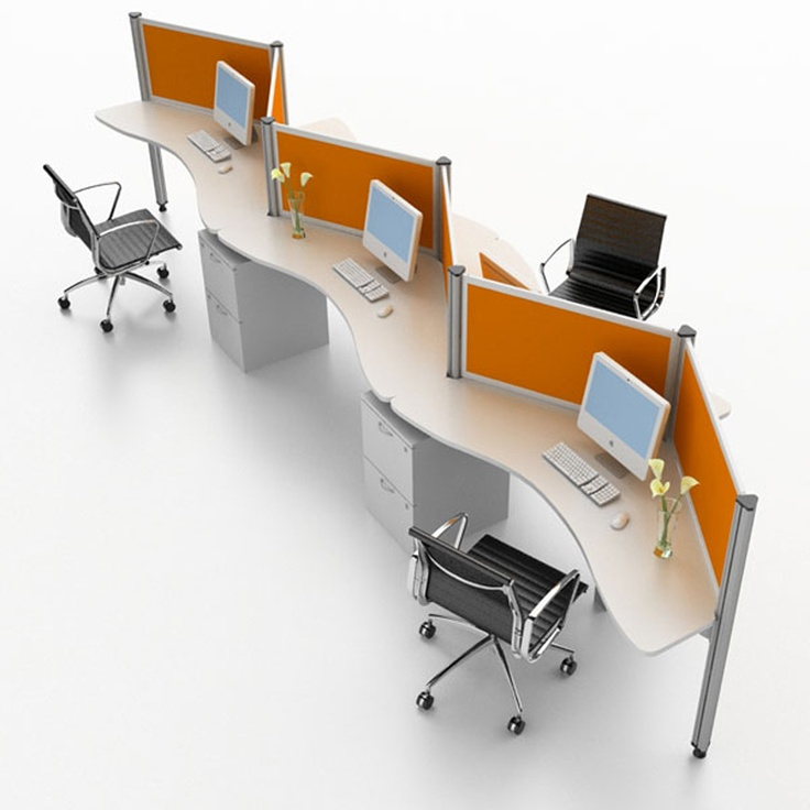 Modern Workstation Design For Interior Office System