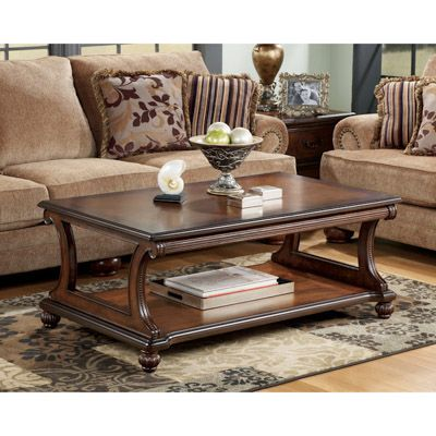 Captivating Coffee Table With Shelf   Bernie And Phyls