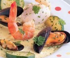 Recette Nage de la mer safranée par thermomix - recette de la catégorie Poissons