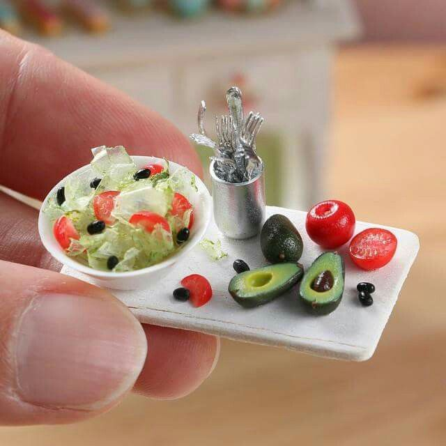 Dollhouse Miniatures Youtube: 1000+ Images About Miniature Food & Kitchen On Pinterest