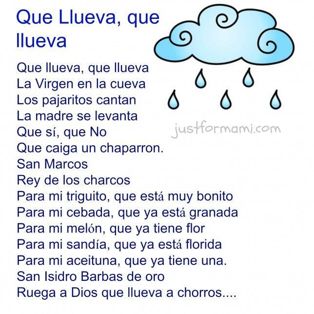 24 best rimas para niños images on Pinterest | Learn spanish ...