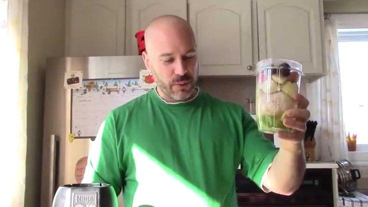 comment faire un jus de fruits pamplemousse et pomme avec un malaxeur Nu...