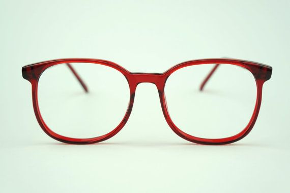 Big Red Frame Glasses : 21 best images about Red eyeglass frames on Pinterest