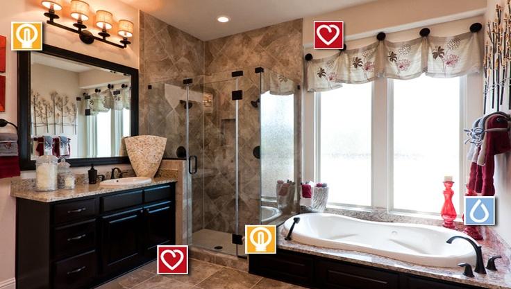 Color sceme for my master bath trendmaker livingsmart for Bathroom ideas houston