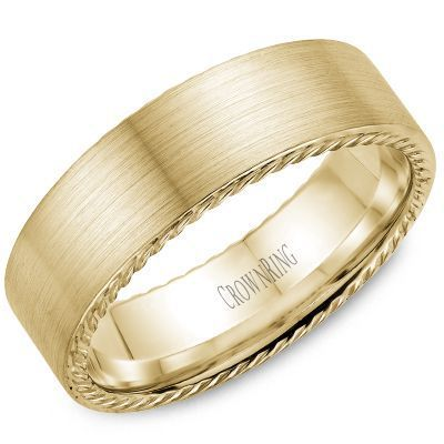 CrownRing Mens Wedding Rings
