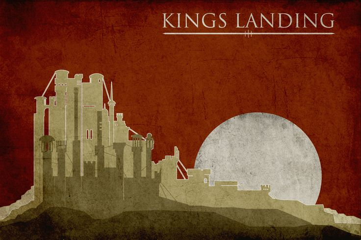 GoT Travel Posters: King's Landing: Movie Posters, Gameofthrones, Minimalist Poster, Travel Posters, Game Of Thrones, Thrones Poster