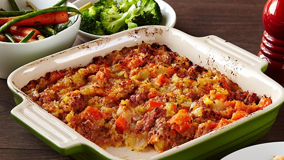 try this tasty, easy corned beef hash recipe, it's perfect for breakfast.